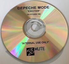 Depeche Mode Exciter Rare Internal Use Only Promo CD STUMM 190 UK 2001 Mute
