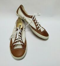 Tretorn Gullwing Womens Shoes Sneakers Lace-Up White Brown Size US 11 EU 42.5