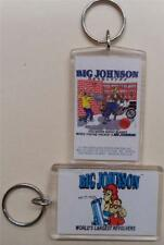 1990's Big Johnson Revolver Keychain, Never Shoot Blanks..., Fire Arms, USA