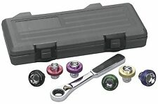 GearWrench 3870D Oil Drain Plug Socket 7 Piece Complete set with Case