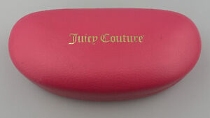 Juicy Couture Eyeglasses Sunglasses Case Only Hardcase Clamshell Pink