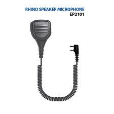 Rhino Remote Speaker Microphone for Kenwood TK and NX Series 2-Pin Radios