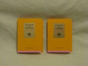 Acqua di Parma 'Rosa Nobile' EDP Perfume Spray Sample Set of 2 NEW