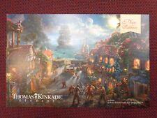 Pirates of The Caribbean Thomas Kinkade Disney Postcard