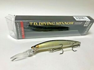 Daiwa T.D.DIVING MINNOW 105SP Natural Ghost Shad Combine shipping Free