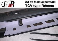 TGV Réseau HJ Jouef Lima Collection -Kit de films occultants éclairage intérieur