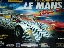 LE MANS 1000KM 2003 OFFICIAL ACO POSTER VERY RARE PRE QUALIFYING DOME SPYKER C8
