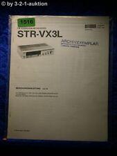 Sony Bedienungsanleitung STR VX3L FM/AM Receiver (#1516)