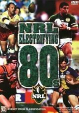 NRL The Electrifying 80's RUGBY LEAGUE DVD