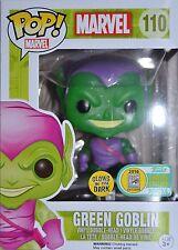 SDCC 2016 Funko Pop Marvel Green Goblin Glow-in-the-Dark Translucent Glitter LE*