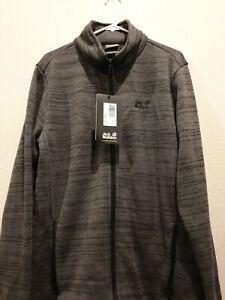 Jack Wolfskin Aquila Altis Jacket Mens Size XL Dark iron