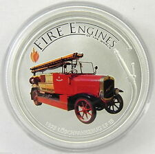 2006 ~AUSTRALIA~1~OZ~SILVER~ FIRE ENGINES of the WORLD ~GERMAN 1923~ BOX ~$68.88