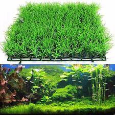 Artificial Water Aquatic Green Grass Plant Lawn Aquarium Fish Tank Landscape New