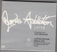 JANE'S ADDICTION - strays CD + DVD