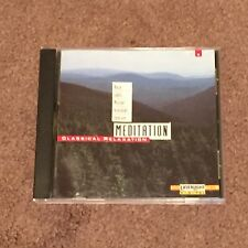 Meditation Classical Relaxation Vol. 8 Various (CD, Music, LaserLight, 1991)