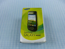 Samsung Galaxy Mini GT-S5570 Steel-Grey! Neu & OVP! Ohne Simlock!