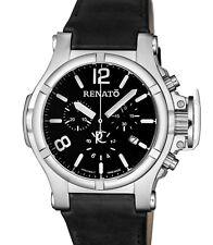 New Mens Renato T-Rex Gen II Aviator Retro Black Dial Sport Watch