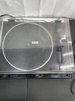 Vintage Pioneer PL-560 Turntable W Dust Cover Full Automatic 33 45 Record Play