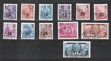 ULB 38) DDR: Lot aus 1954 gestempelt! 2 Scans!