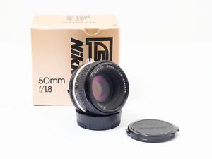 Nikon Nikkor 50mm f/1.8 Ai-s Manual Focus Prime Lens FX Digital and film