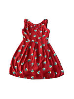 Favour Women's Fit And Flare dress With Bird Print Size 10