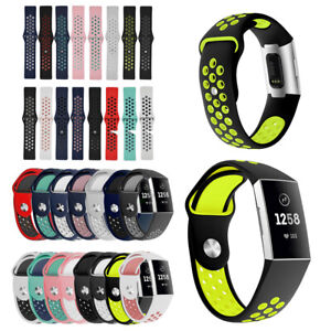 For Fitbit Charge 3 Bands/Charge 4 Classic Bands,Sports Waterproof Watch Band