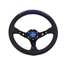 13 pulgadas 330mm Deep Dish Azul a la deriva Sport Racing Volante Tuning Vertex