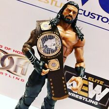 WWE NXT North American Championship Faux Leather custom for Mattel/Jakks Figures