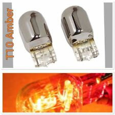 Reverse Backup Light T10 168 194 2825 12961 Chrome Bulb Amber M1 A