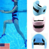 US Adult Swimming Safety Waistband Waist Training Float Plate Floatation Belt OC