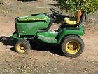 John Deere 355D Lawn and Garden Tractor