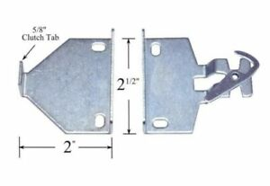 """R Series Bracket #RB580 by Rollease  2"""" EXTENSION Brackets - for Roller shades"""