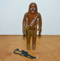 "Vintage STAR WARS CHEWBACCA Action Figure 1977 Hong Kong Complete 3.75"" Kenner"
