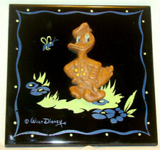 Vintage 1940s Walt Disney DONALD DUCK Kemper Thomas Tile Plaque