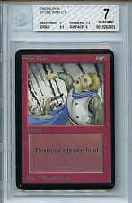 MTG Alpha Stone Rain BGS 7.0 (7) NM card Magic the Gathering WOTC 2803