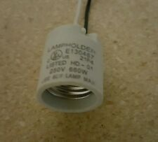 Medium base socket E26 2 Wire For ceiling fan light or other fixture replacement