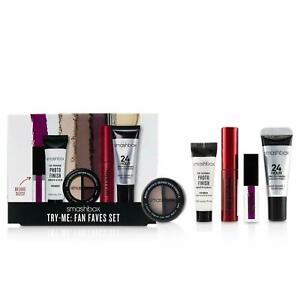 SMASHBOX TRY ME FAN FAVES GIFT SET 5 PIECE KIT Lipgloss Mascara Primer Eyeshadow