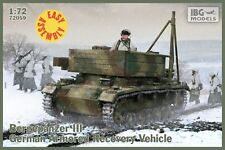BG 1/72 montagnes chars III German Armored Recovery Vehicle (Easy Assembly) # 72059