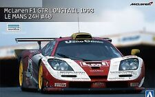 AOSHIMA MCLAREN F1 GTR LONGTAIL 1998 LE MANS 24H Scala 1/24 Cod 01419