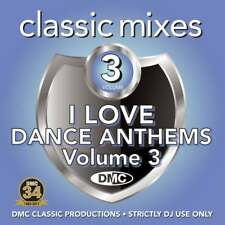 DMC Classic Mixes - I Love Dance Anthems Vol 3 Megamixes & Remixes DJ CD