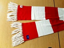 Arsenal Football Scarf. 2013/14 Membership. Official Merchandise. Red & White.