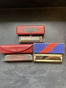harmonica hohner Et Chromonica Et Chrometta Lot
