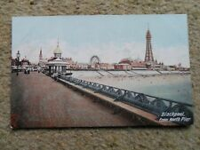.WOOD-MILNE RUBBER HEEL.POSTCARD.BLACKPOOL FROM NORTH PIER.NOT POSTED.