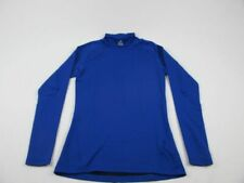 adidas - Blue Climawarm Long Sleeve Shirt (M) - Used