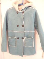 Cherokee Girl's Size X-Large Turquoise Sherpa Jacket – Nwts