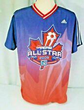 MLS Soccer 2008 Pepsi All-Star Game Toronto jersey Men's L Adidas ClimaLite EXC!