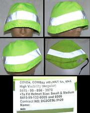 F  Couvre casque anglais HAUTE VISIBILITE HIGH VISIBILITY British Helmet cover