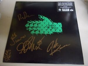 """The Raconteurs Signed """"Help Us Stranger"""" Vinyl Record LP (Jack White Autograph)"""