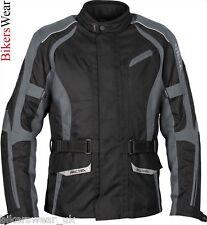 RICHA Hatchet  Black / Grey Waterproof  Textile Motorcycle Jacket