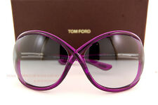 Brand New Tom Ford Sunglasses TF 0009 Whitney 75B Purple/Grey Gradient Women